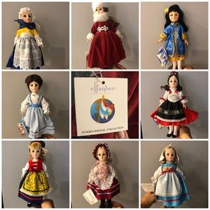 Effanbee Dolls From Countries